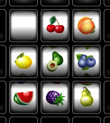 Fruit Machine Card Set Preview